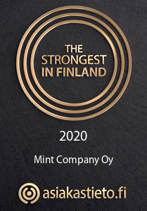 Get in touch – Finland's strongest 2020 certificate