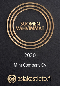 Suomen vahvimmat 2020 sertifikaatti